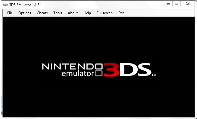 3DS EMULATOR PC V 1.1.8 - Home